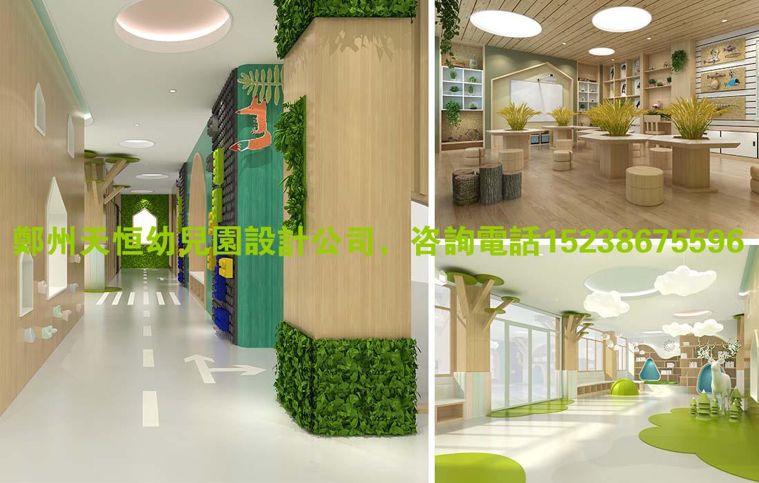 幼儿园大厅设计效果图